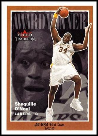 229 Shaquille O'Neal