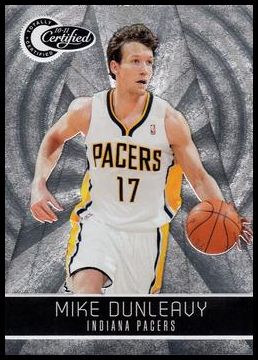 2010-11 Panini Totally Certified 98 Mike Dunleavy Jr.