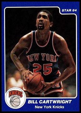 62 Bill Cartwright
