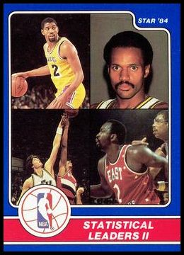11 Magic Johnson -Rickey Green-Mark Eaton-Moses Malone LL