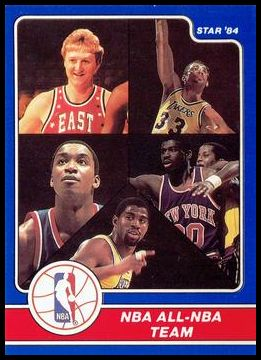 24 All-NBA Team (Larry Bird Kareem Abdul-Jabbar Isaiah Thomas Bernard King Magic Johnson)