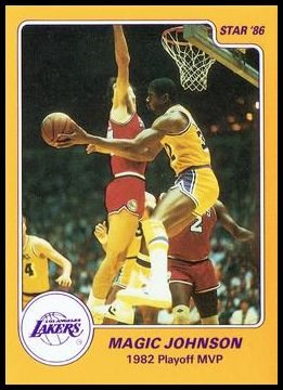 10 Magic Johnson 1982 Playoff MVP