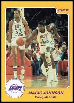 2 Magic Johnson Collegiate Stats
