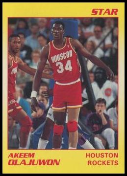 11 Akeem Olajuwon Houston Rockets