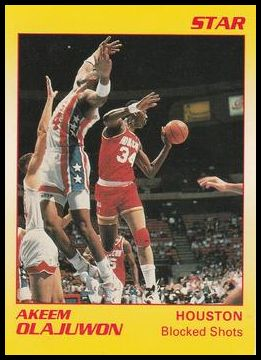 9 Akeem Olajuwon Blocked Shots