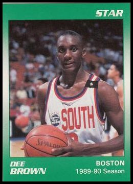 3 Dee Brown - 1989-90 Season