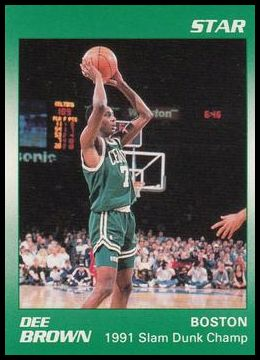 7 Dee Brown - 1991 Slam Dunk Champ