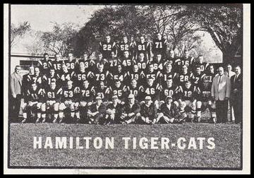58 Tiger-Cats Team Photo