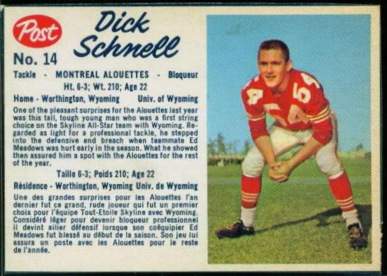 14 Dick Schnell