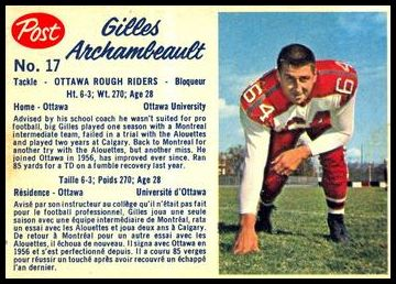 17 Gilles Archambeault