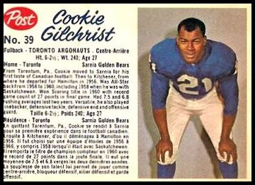 39 Cookie Gilchrist