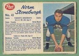 43 Norm Stoneburgh