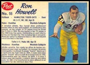 55 Ron Howell