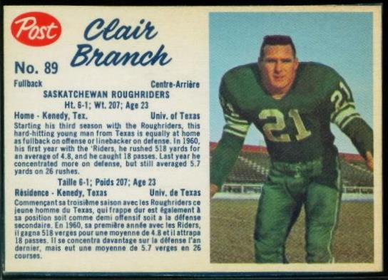 89 Clair Branch