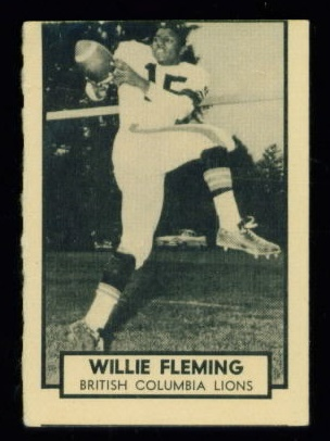 10 Willie Fleming