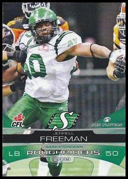 2009 Extreme Sports CFL 68 Jerrell Freeman
