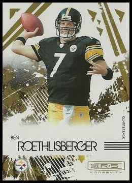 2009 Donruss Rookies and Stars Longevity Ben Roethlisberger