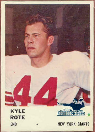 69 Kyle Rote