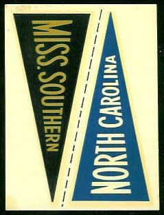 13 Mississippi Southern Pennant