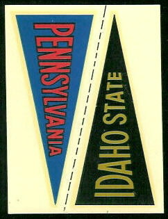 8 Idaho State Pennant