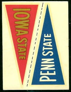 9 Iowa State Pennant