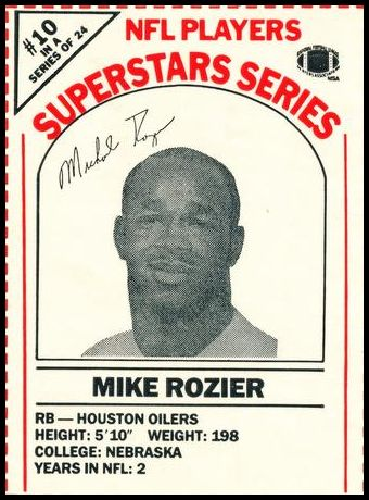 10 Mike Rozier
