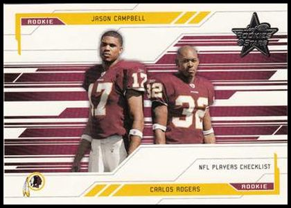 100 Carlos Rogers Jason Campbell CL