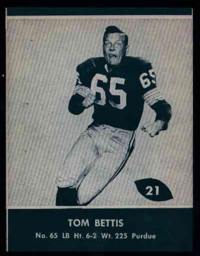 21 Tom Bettis