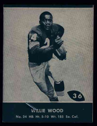 36 Willie Wood