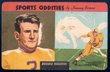 1954 Sports Oddities 26 Nagurski