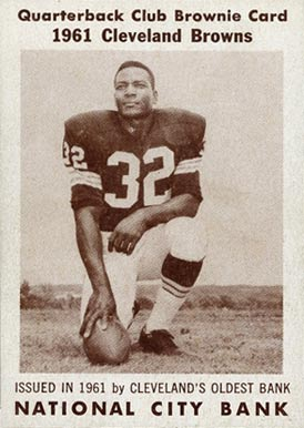 1961 Browns National City Bank 02 Jim Brown
