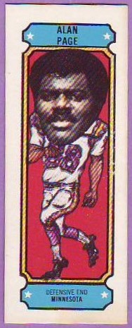 1975 Nabisco Sugar Daddy Football 03 Alan Page