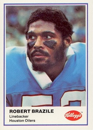 1982 Kellogg's Football Robert Brazile