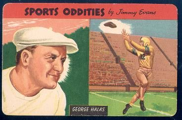 54SO 1954 Sports Oddities 19 George Halas