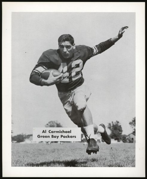 55GB 1955 Green Bay Packers Team Issue Al Carmichael