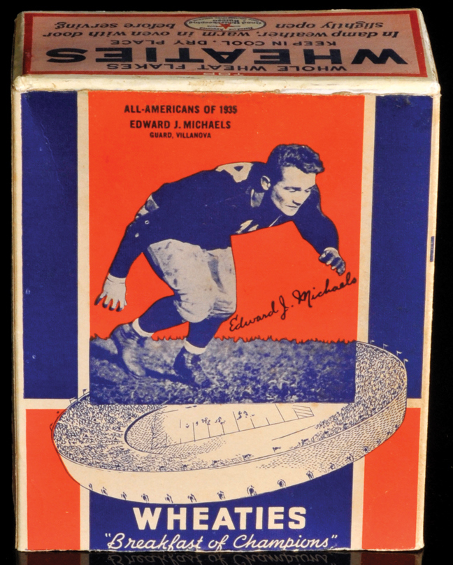 BOX 1936 Wheaties Edward Michaels