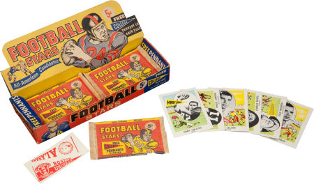 BOX 1961 Nu-Card Football