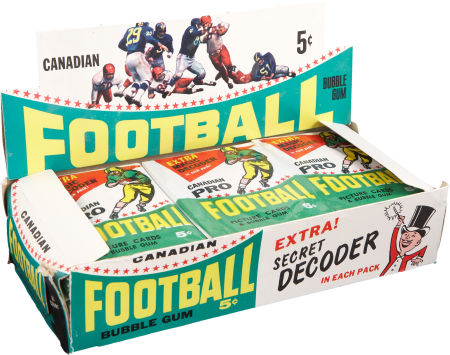 BOX 1964 Topps CFL Football