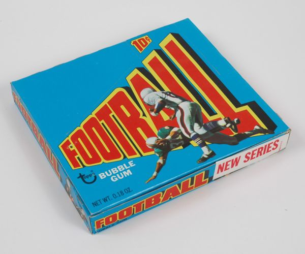 BOX 1972 Topps Football 2nd Series