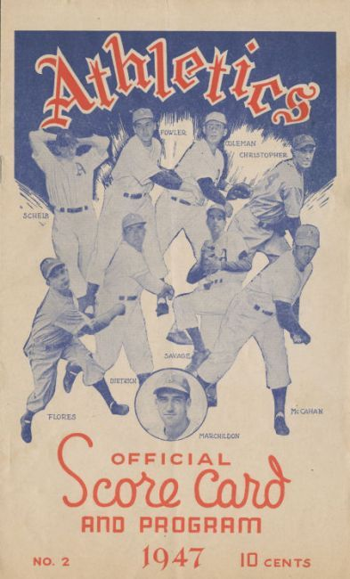 P40 1947 Philadelphia Athletics
