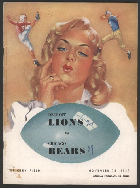 P40 1949 Chicago Bears