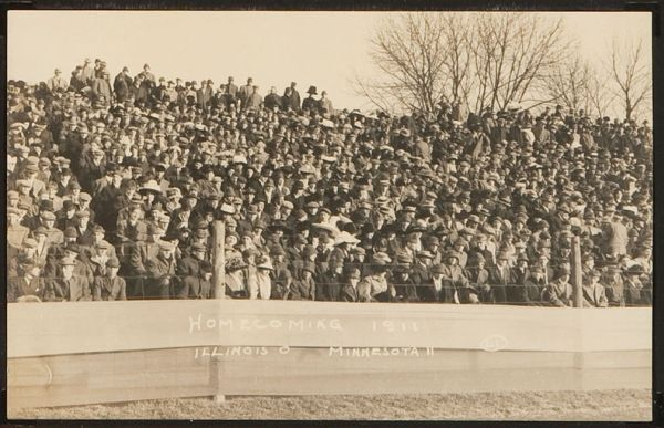 PC 1910 Real Photo Homecoming 1911