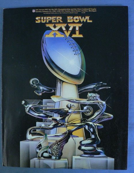PSB 1982 Super Bowl XVI