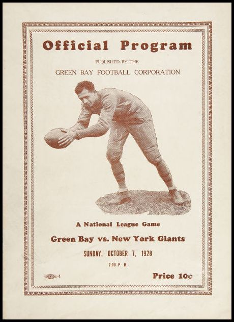 PVNT 1928 Green Bay Packers