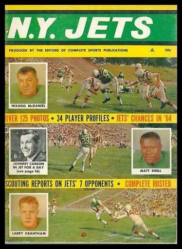 YB60 1964 New York Jets