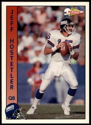 90P 212 Jeff Hostetler