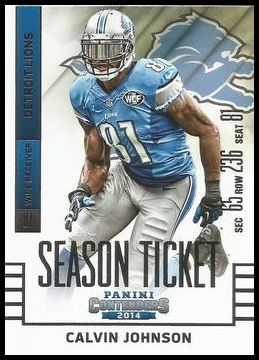 58 Calvin Johnson