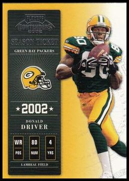 72 Donald Driver
