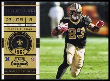 85 Pierre Thomas