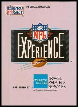 1 The NFL Experience